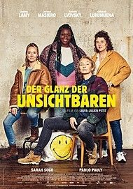 """Filmplakat für """"DER GLANZ DER UNSICHTBAREN - FILMSTART IN ÖSTERREICH"""""""