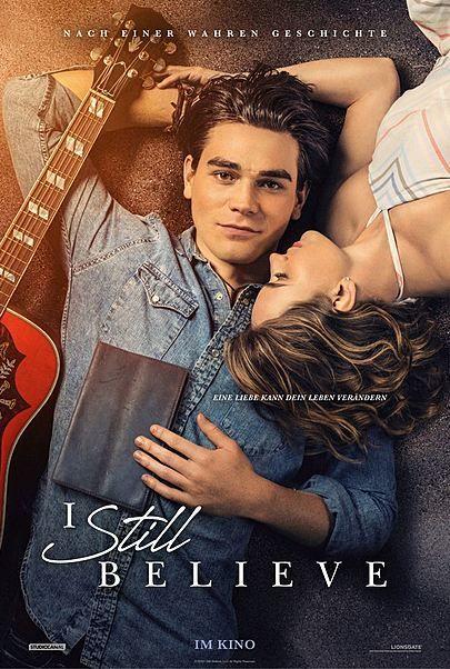 """Filmplakat für """"I STILL BELIEVE"""""""
