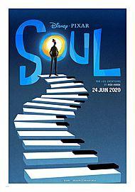 """Affiche du film """"SOUL (2020)"""""""