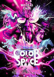 "Movie poster for ""COLOR OUT OF SPACE"""