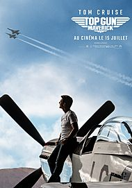 "Movie poster for ""TOP GUN: MAVERICK"""