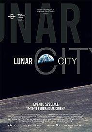 "Movie poster for ""LUNAR CITY"""