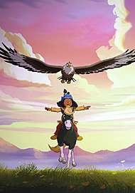 "Affiche du film "" YAKARI, LE FILM"""