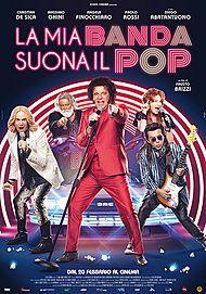 """Movie poster for """"LA MIA BANDA SUONA IL POP"""""""
