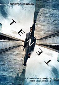 """Movie poster for """"TENET"""""""