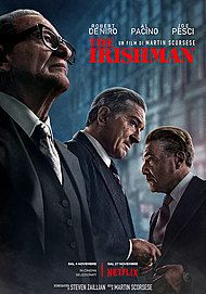 "Movie poster for ""THE IRISHMAN"""