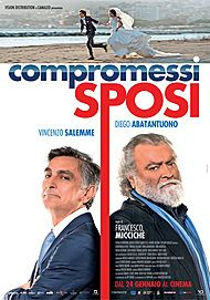 "Movie poster for ""COMPROMESSI SPOSI"""