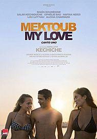 """Movie poster for """"MEKTOUB MY LOVE: CANTO UNO (MEKTOUB IS MEKTOUB)"""""""