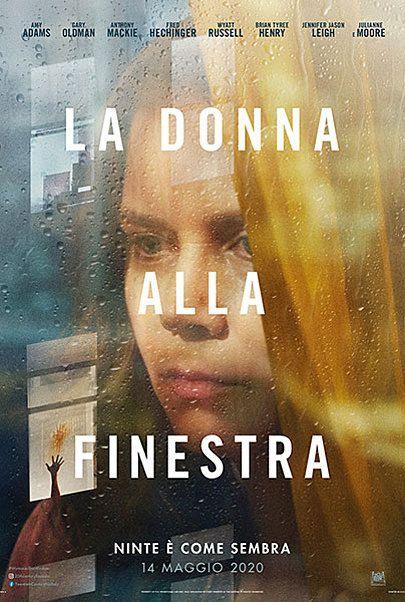 """Movie poster for """"LA DONNA ALLA FINESTRA"""""""