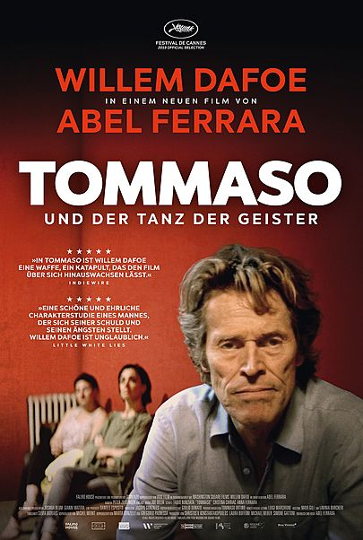 """Filmplakat für """"TOMMASO UND DER TANZ DER GEISTER"""""""
