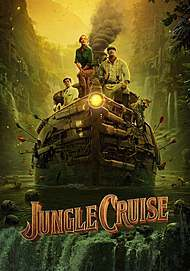 "Movie poster for ""JUNGLE CRUISE"""
