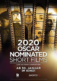 "Filmplakat für ""2020 OSCAR NOMINATED SHORT FILMS"""
