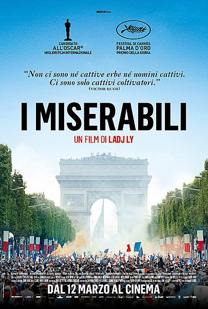 "Movie poster for ""I MISERABILI"""