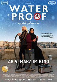 "Movie poster for ""WATERPROOF"""