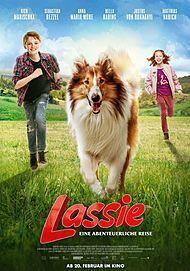 """Filmplakat für """"LASSIE - EINE ABENTEUERLICHE REISE"""""""