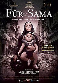 """Filmplakat für """"FÜR SAMA"""""""