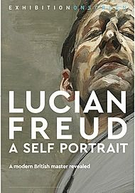 """Movie poster for """"LUCIAN FREUD: A SELF-PORTRAIT (Exhibition On Screen)"""""""