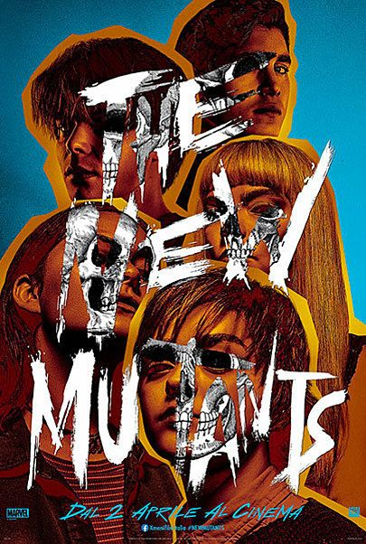 """Movie poster for """"THE NEW MUTANTS"""""""