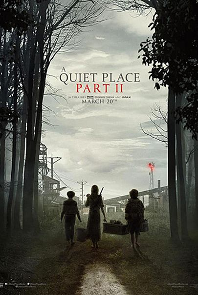 """Movie poster for """"A QUIET PLACE 2"""""""