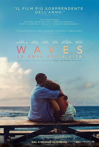 """Movie poster for """"WAVES - LE ONDE DELLA VITA"""""""