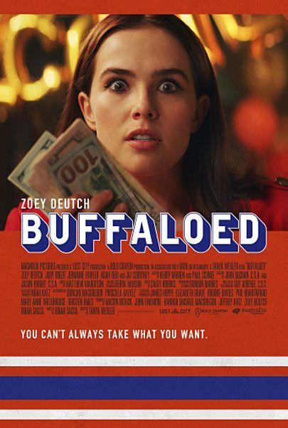 "Movie poster for ""BUFFALOED"""