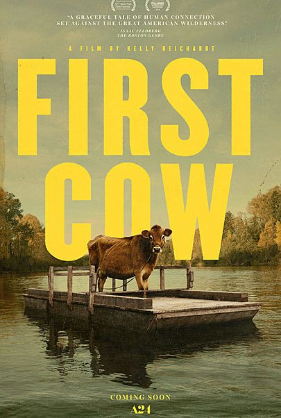 """Movie poster for """"FIRST COW"""""""