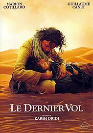 "Movie poster for ""LE DERNIER VOL"""