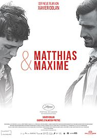"Movie poster for ""MATTHIAS & MAXIME"""
