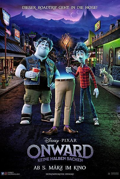 """Movie poster for """"ONWARD"""""""