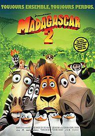 "Affiche du film ""MADAGASCAR 2 LA GRANDE EVASION"""