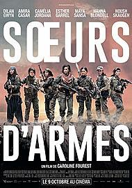 """Movie poster for """"SISITERS IN ARMS"""""""