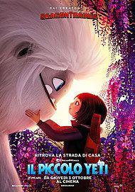 """Movie poster for """"IL PICCOLO YETI"""""""