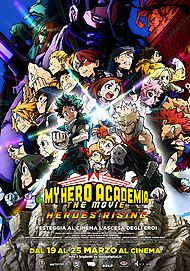 """Movie poster for """"MY HERO ACADEMIA THE MOVIE 2 – HEROES: RISING"""""""