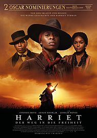 """Movie poster for """"HARRIET"""""""