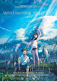 """Movie poster for """"WEATHERING WITH YOU"""""""