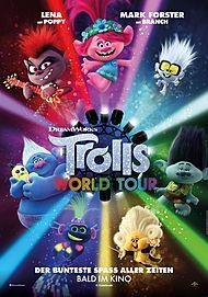 """Filmplakat für """"TROLLS WORLD TOUR"""""""