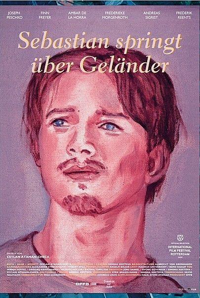 """Movie poster for """"SEBASTIAN SPRINGT UEBER GELAENDER"""""""