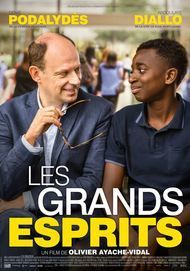 "Movie poster for ""LES GRANDS ESPRITS"""