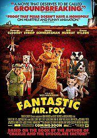 "Movie poster for ""FANTASTIC MR FOX"""