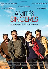 """Movie poster for """"AMITIES SINCERES"""""""