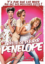 "Movie poster for ""ARRETE DE  PLEURER PENELOPE"""