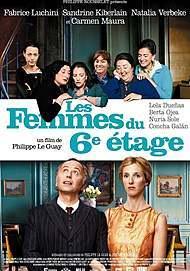 """Movie poster for """"LES FEMMES DU 6E ETAGE"""""""