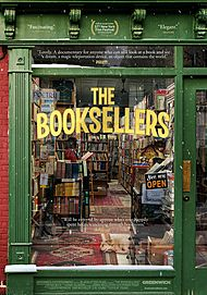 """Movie poster for """"THE BOOKSELLERS"""""""