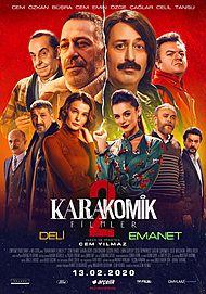 """Movie poster for """"KARAKOMIK FILMLER 2"""""""