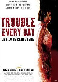"Filmplakat für ""TROUBLE EVERY DAY"""