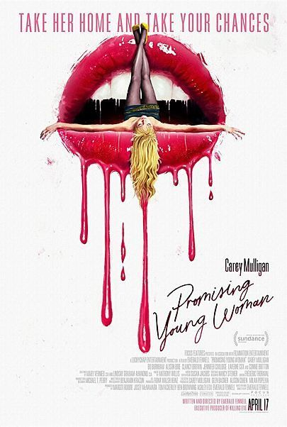 """Movie poster for """"PROMISING YOUNG WOMAN"""""""