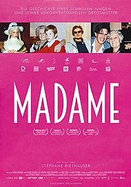 """Movie poster for """"MADAME"""""""