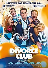 """Movie poster for """"DIVORCE CLUB"""""""