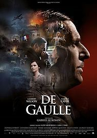 """Movie poster for """"DE GAULLE"""""""