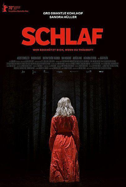 """Filmplakat für """"SCHLAF"""""""